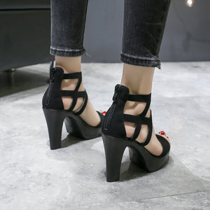Verina Ankle-Wrap Sandals