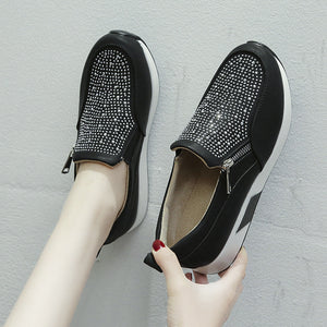 Jewelry Bling Loafers