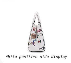Gabriella Cartoon Shoulder Bag