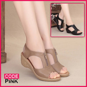 Delicia Cool Zipper Sandals