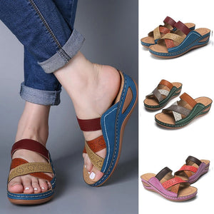 Desiree Sole Wedge Sandals