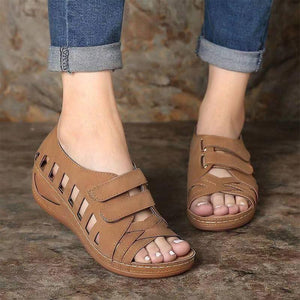 Devora Cross Belt Sandals