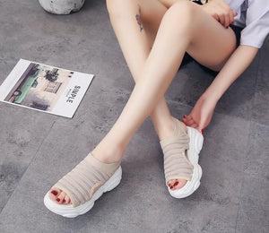 Selene Peep Toe Sandals