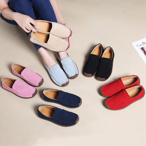 Lydia Leather Flat Shoes