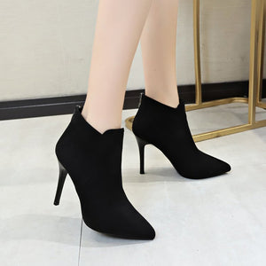 Xylona Retro Black Boots