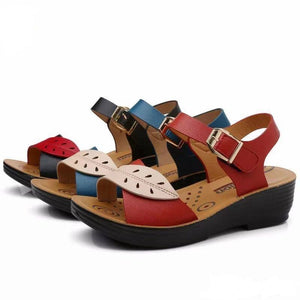 Marguerite Soft Leather Sandals