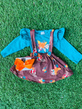 Bowtism Harvest Jumper with Matching Bow