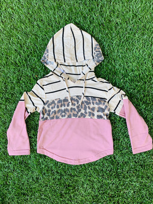 Bowtism Everyday Cheetah Hoodie