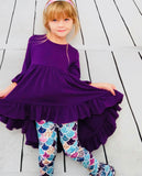Bowtism Oliviah Cystic Fibrosis Mermaid Pants Set with Matching Bow