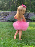 Bowtism Sweetheart Tutu Velvet Dress with Matching Bow