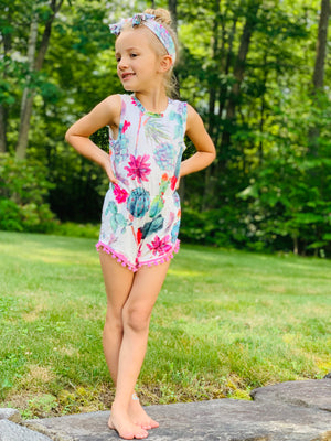 bowtism succulent romper with matching bow autism autistic charity