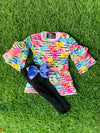 Bowtism Exclusive Gummy Bear Friends Pants Set with Matching Bow