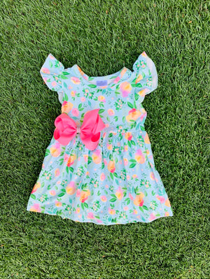 Bowtism Mary Tyler Dress with Matching Bow