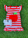 Bowtism Classic Schoolgirl Dress with Matching Bow