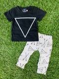 Bowtism Boys Boho Pants Set