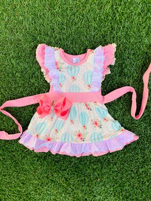 Bowtism Take Me Away Lace Dress with Matching Bow