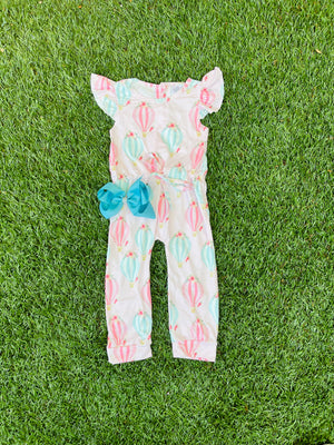 Bowtism Take Me Away Romper with Matching Bow