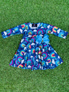 Bowtism Exclusive Rainbow Twirl Dress with Matching Bow