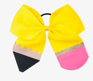 Bowtism Pencil Hair Tie Bow