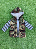 Bowtism Camo Vest & Shirt with Matching Bow