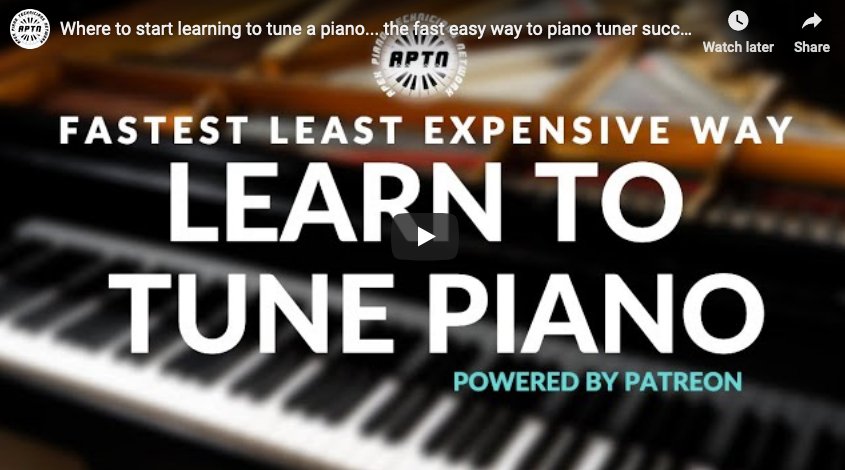 Fastest Easiest Way to Learn the Piano Tuning Trade