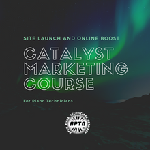 Load image into Gallery viewer, Catalyst Marketing Course Online - APTN Members Only