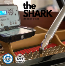 Load image into Gallery viewer, SHARK Carbon Fiber Piano Tuning Hammer