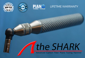 SHARK Carbon Fiber Piano Tuning Hammer