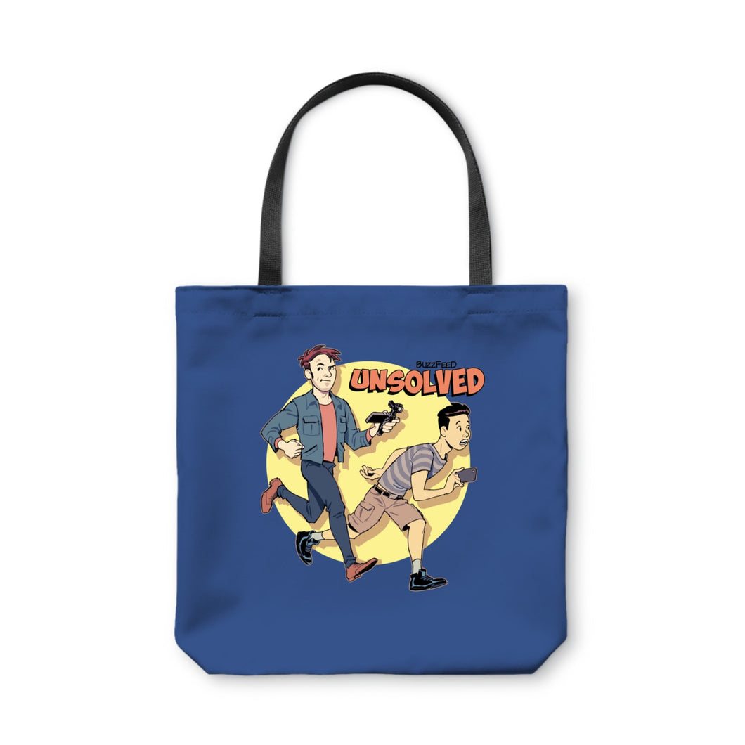 BuzzFeed Unsolved Saturday Morning Tote Bag
