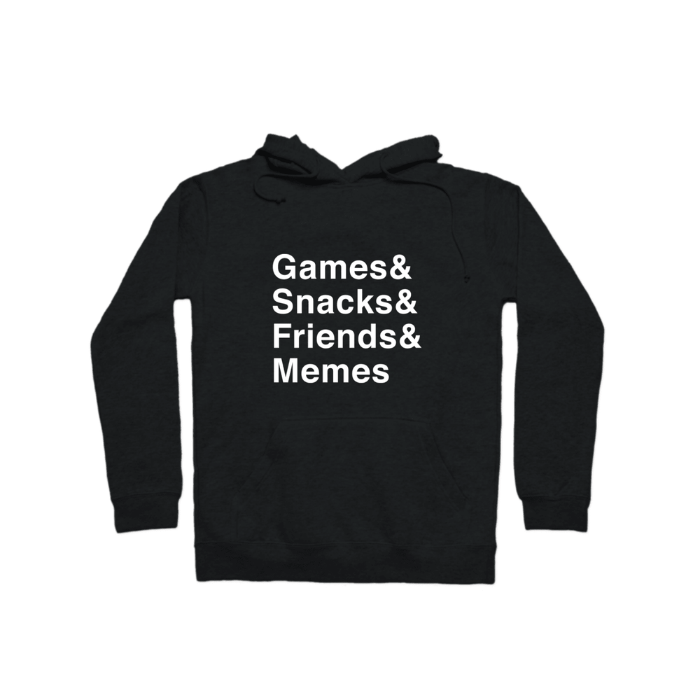 Multiplayer By BuzzFeed Games & Snacks & Friends & Memes Pullover Hoodie