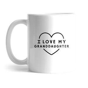 BuzzFeed I Love My Granddaughter Grandparents Day Mug