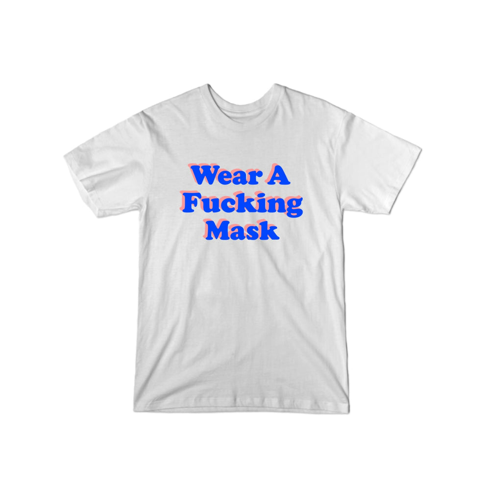 BuzzFeed Wear A Fucking Mask T-Shirt