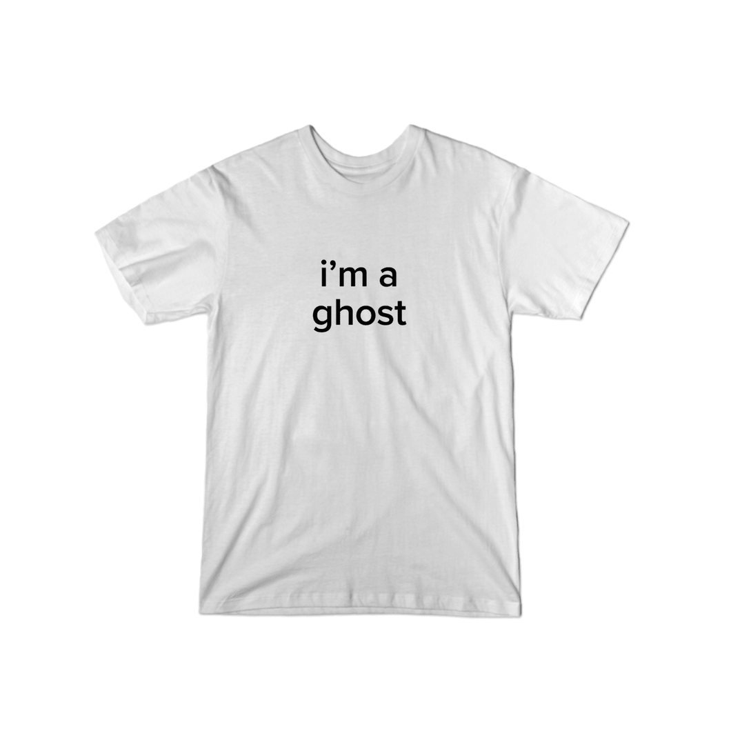 BuzzFeed I'm A Ghost Lazy Halloween Costume T-Shirt