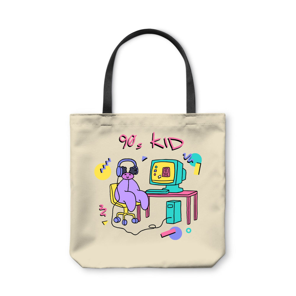 The Land of Boggs 90s Kid Tote Bag