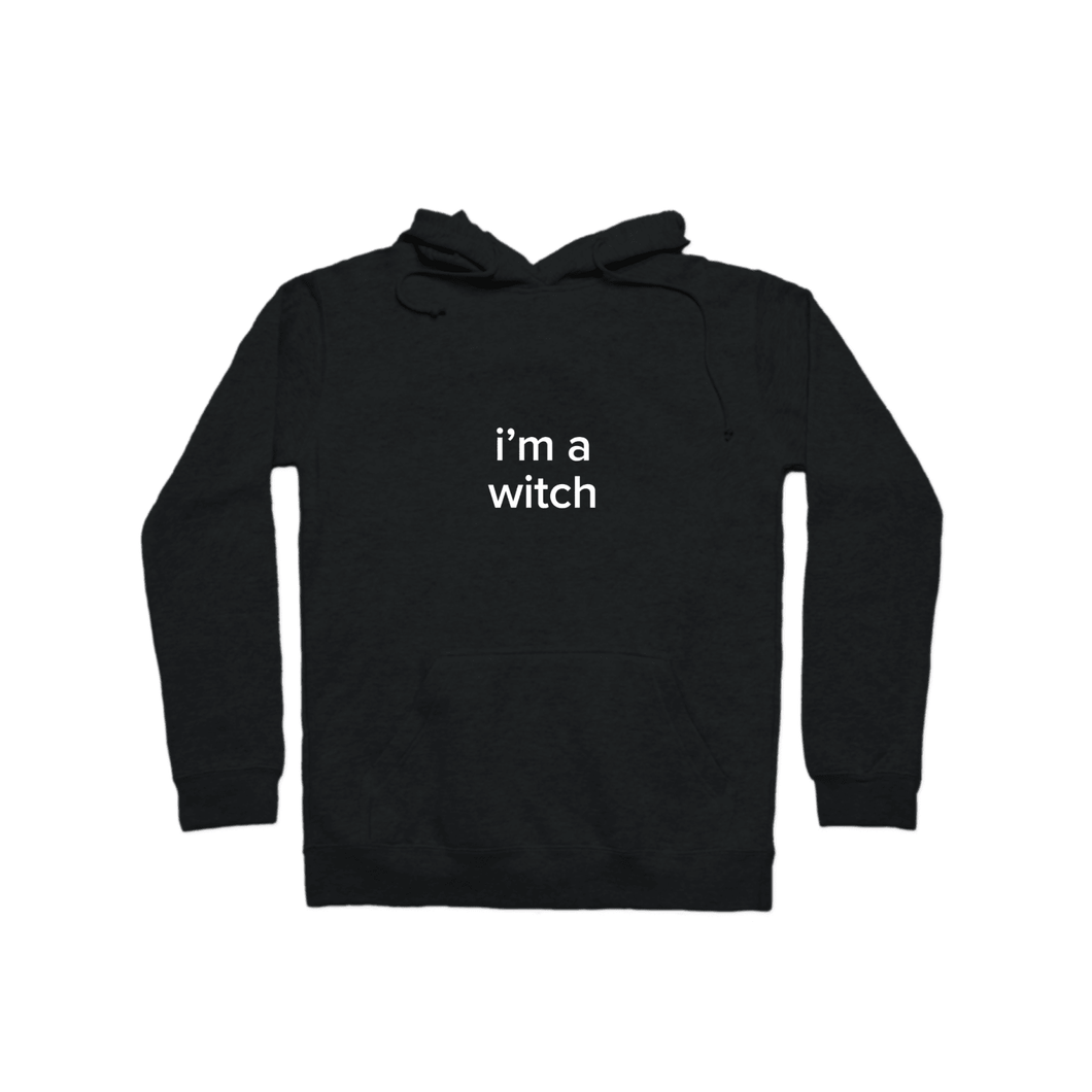 BuzzFeed I'm A Witch Lazy Halloween Costume Pullover Hoodie