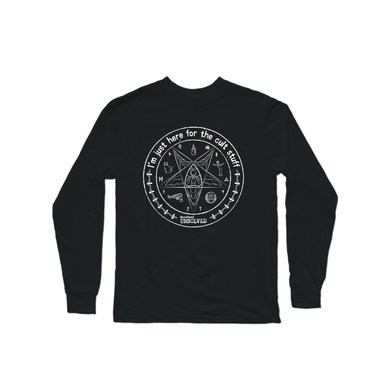 BuzzFeed Unsolved Cult Stuff Long Sleeve Shirt