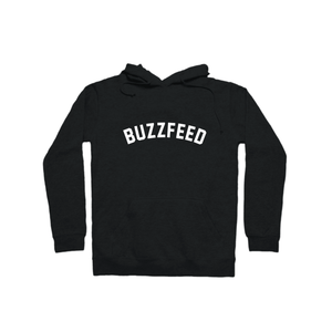 BuzzFeed Collegiate Logo Pullover Hoodie