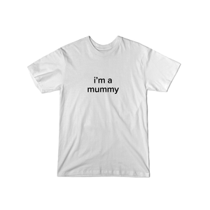 BuzzFeed I'm A Mummy Lazy Halloween Costume T-Shirt