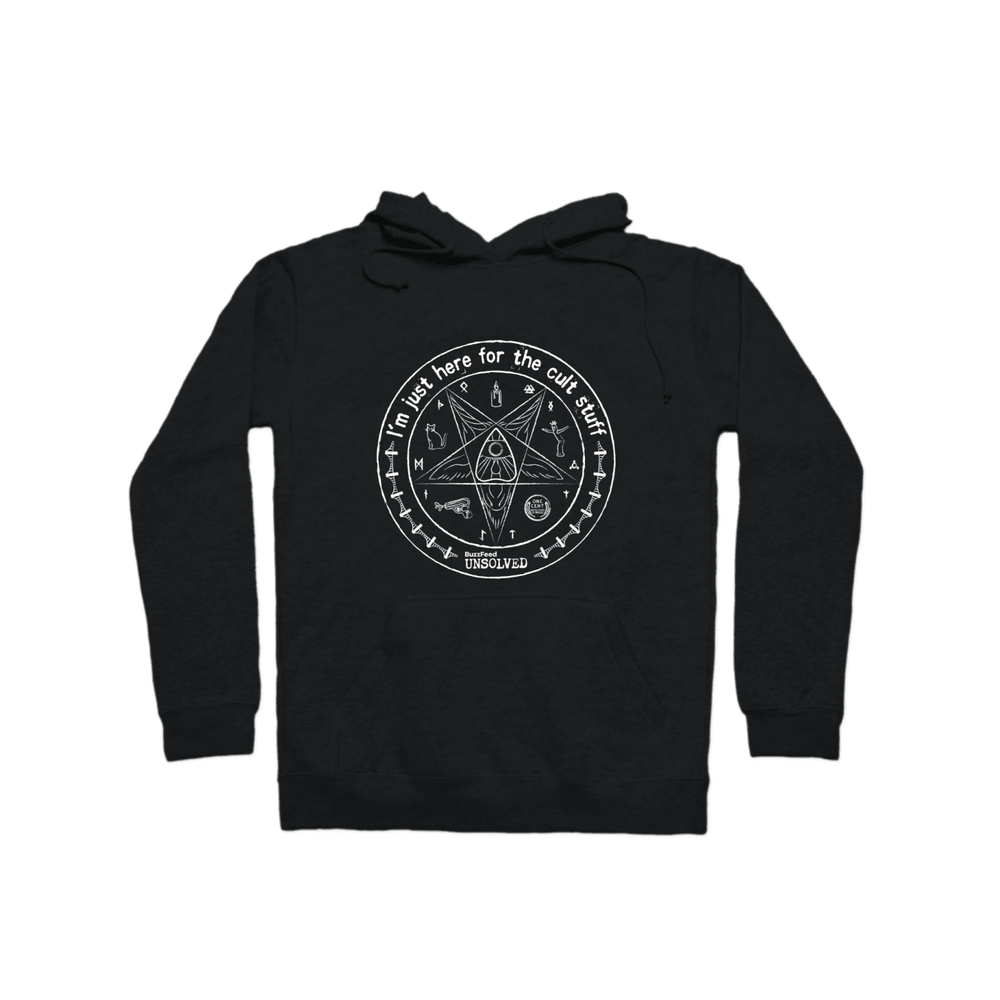 BuzzFeed Unsolved Cult Stuff Pullover Hoodie