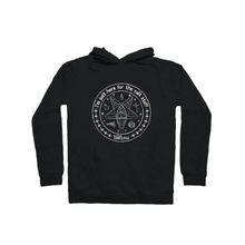 Load image into Gallery viewer, BuzzFeed Unsolved Cult Stuff Pullover Hoodie