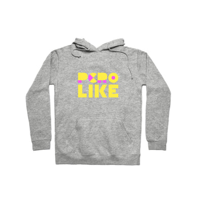 Pero Like Yellow Pullover Hoodie
