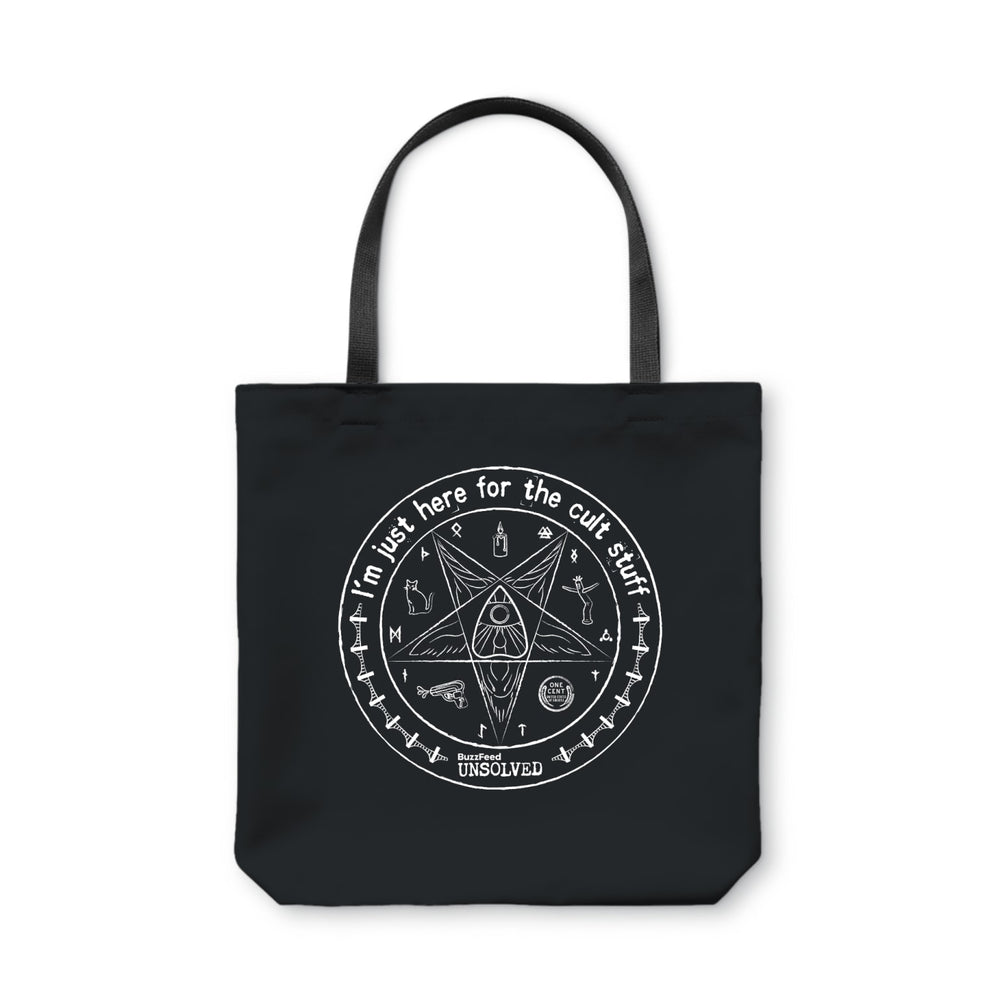 BuzzFeed Unsolved Cult Stuff Tote Bag