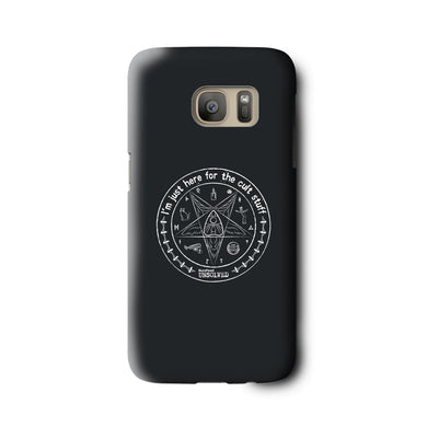 BuzzFeed Unsolved Cult Stuff Galaxy Phone Case