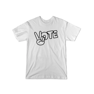 BuzzFeed Peace Sign Vote T-Shirt