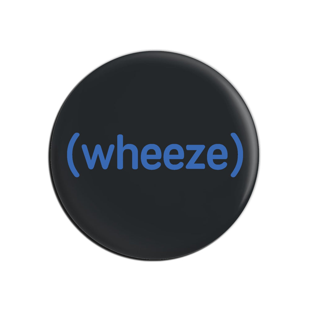 BuzzFeed Unsolved (wheeze) Button Pin