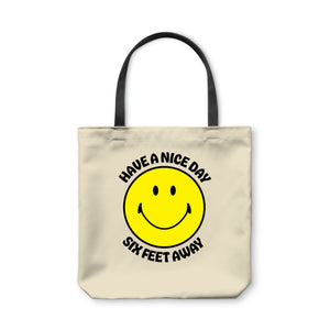BuzzFeed Have A Nice Day Six Feet Away Tote Bag