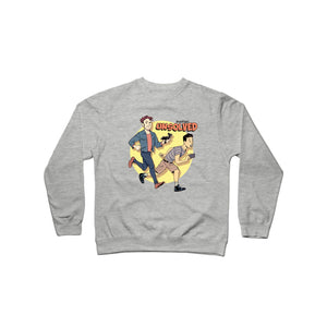 BuzzFeed Unsolved Saturday Morning Crewneck Sweatshirt