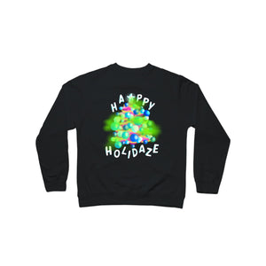 BuzzFeed Happy Holidaze Holiday Sweater Crewneck Sweatshirt
