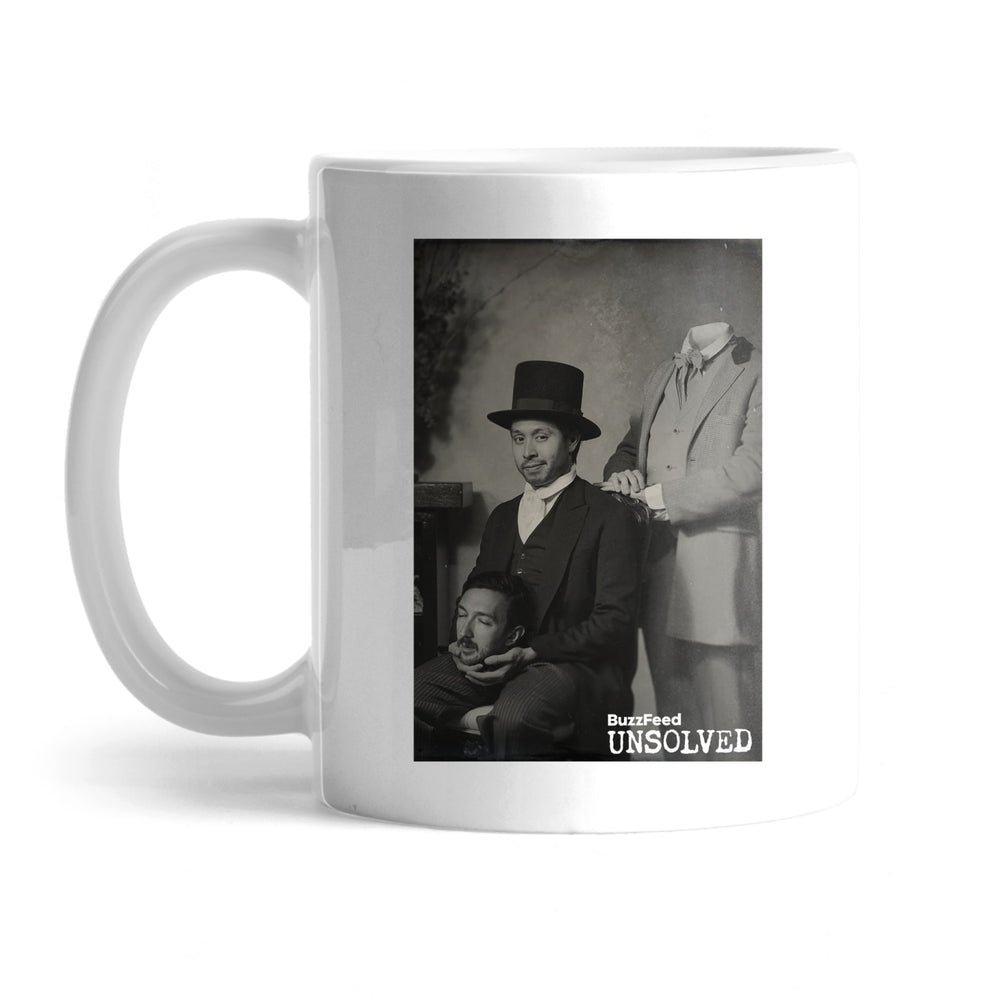 BuzzFeed Unsolved 100th Episode Mug