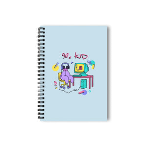 The Land of Boggs 90s Kid Notebook